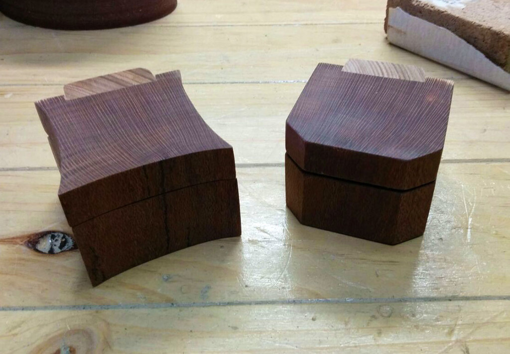 Beefwood Ring Boxes