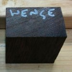 Block of Wenge