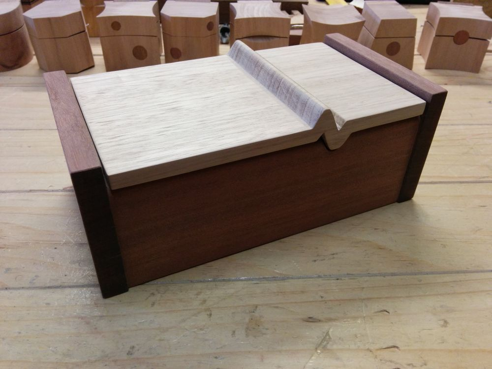 Assembled Keepsake Box