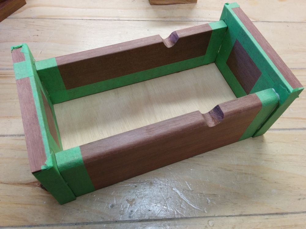 Keepsake box glue up