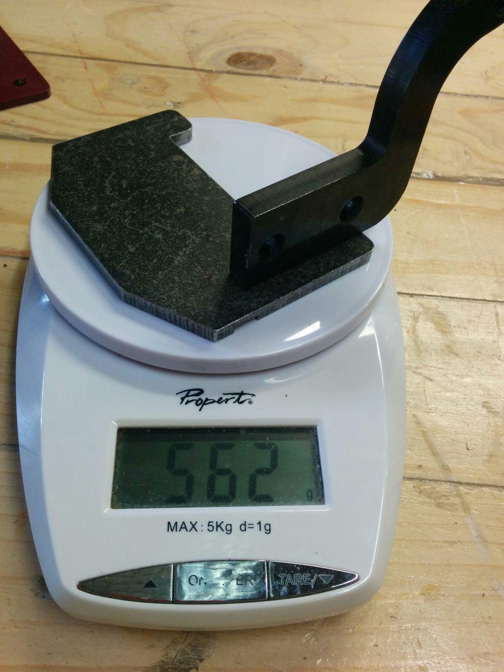 Robert Sorby ProEdge Tool Platform Weight