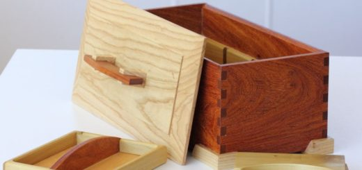 Large Partitioned Jewellery Box