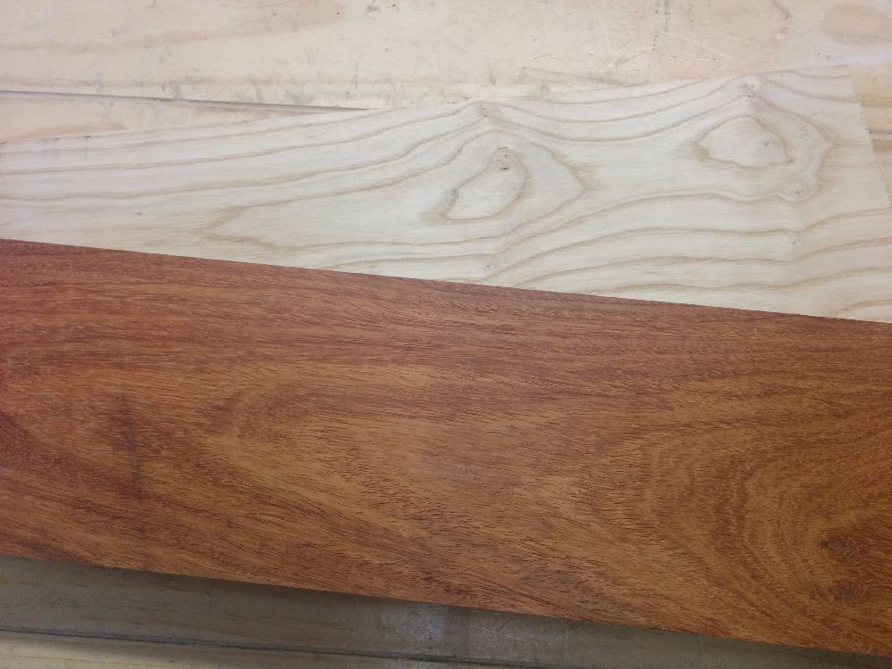 Laos Rosewood and White Ash boards