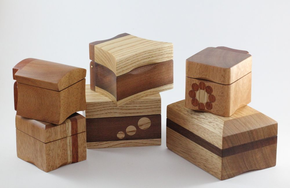 Wooden Ring Boxes