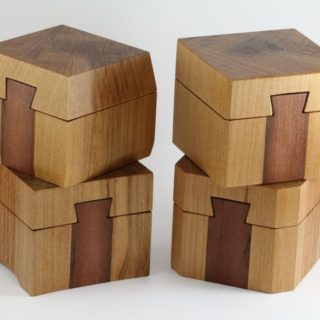 Finished Kauri ring boxes