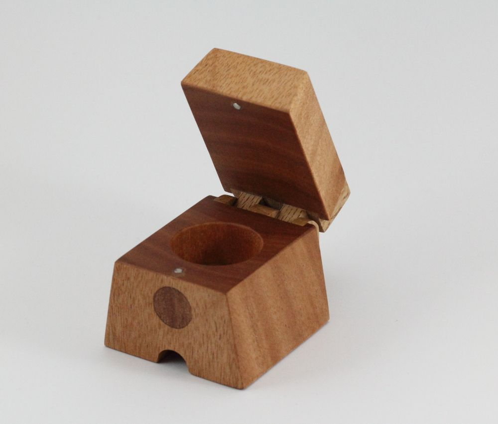 Small wooden ring boxes the warawood shed for Wooden ring box