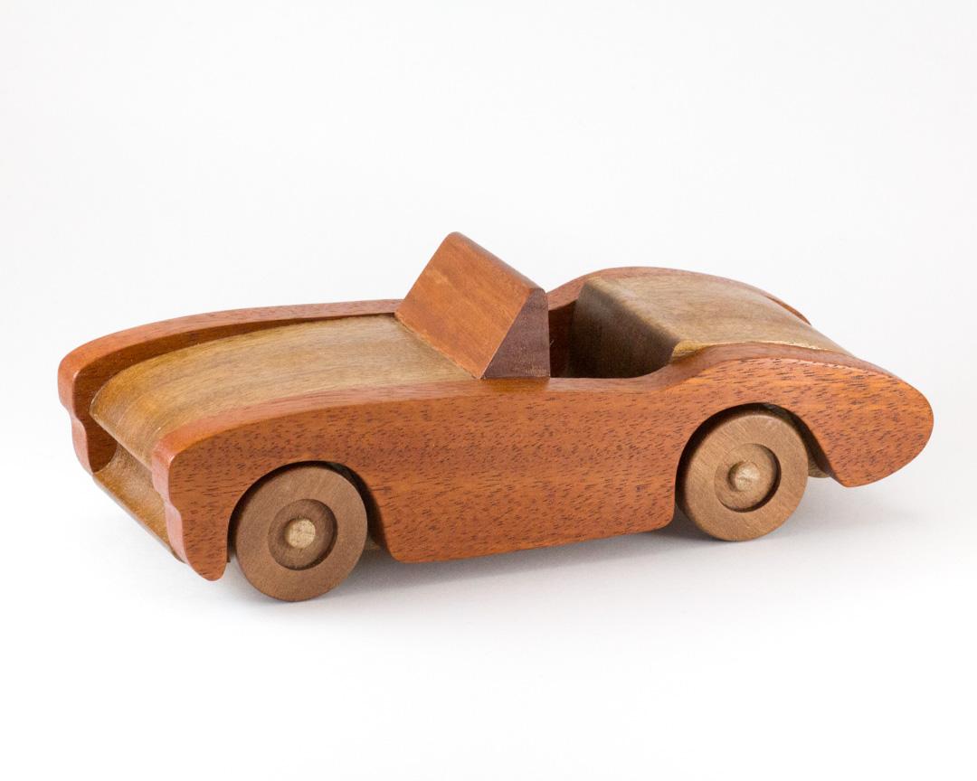 Hardwood Toy Car – The Warawood Shed