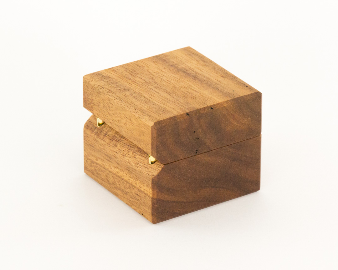 Blackwood and Queensland Maple Ring Boxes – The Warawood Shed