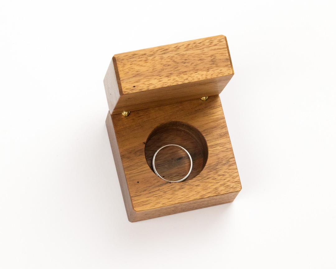 how to make a wooden ring box